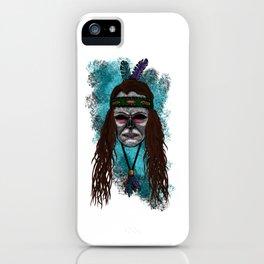 Juliette Style Errorface Skull iPhone Case