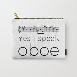 Yes, I speak oboe (2) (white) Carry-All Pouch