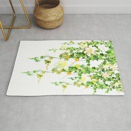 Watercolor Ivy Rug