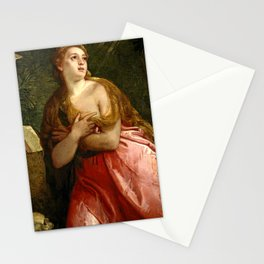"""Veronese (Paolo Caliari) """"Penitent Magdalene"""" Stationery Cards"""