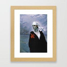 La France Croisee Romaine Brooks Framed Art Print