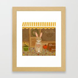 oliver's pies Framed Art Print