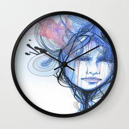 A Quiet Darkness Wall Clock