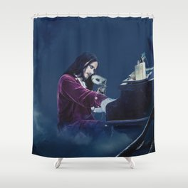 Tuomas Holopainen ''From G To E Minor'' Shower Curtain