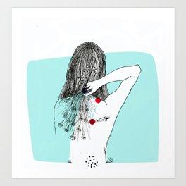 Puñal Art Print