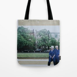 Laverne and Shirley Tote Bag