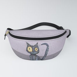 Curly cat Fanny Pack
