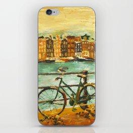 Going Dutch (yellow) iPhone Skin