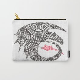 Toothless Circle Art Carry-All Pouch