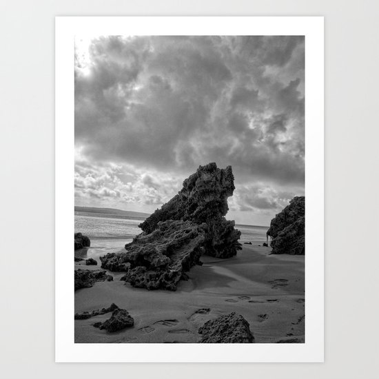 The Rock Art Print