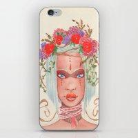 maori iPhone & iPod Skins featuring Maori by Caly