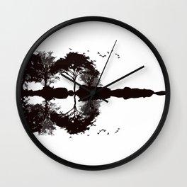 Panoramic Guitar Wall Clock