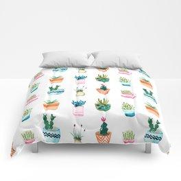 Tiny plants Comforters