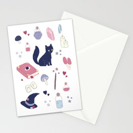 Pastel Witch Stationery Cards
