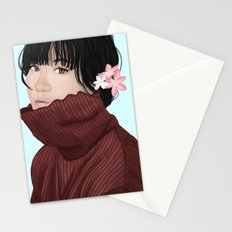 Sweater Girl Stationery Cards