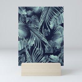 Tropical Jungle Leaves Dream #9 #tropical #decor #art #society6 Mini Art Print