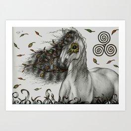Celtic Breeze, as a print Art Print
