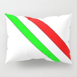 flag of Italia scarf- Italy,Italia,Italian,Latine,Roma,venezia,venice,mediterreanean,Genoa,firenze Pillow Sham