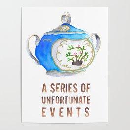 Sugar Bowl Water Color Poster