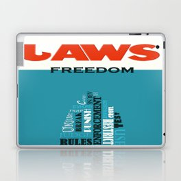 Laws of Freedom Laptop & iPad Skin