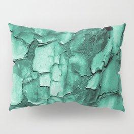 Flakey - Teal Pillow Sham