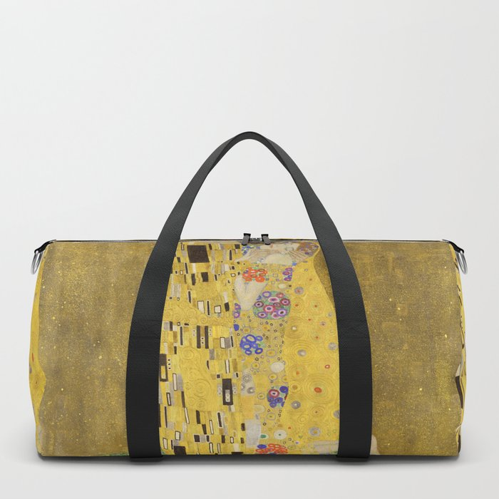 The Kiss by Gustav Klimt Duffle Bag