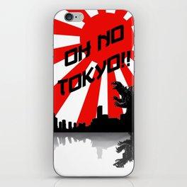 Godzilla - Oh No Tokyo iPhone Skin