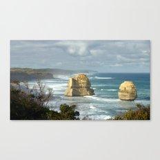 Gigantic Rock Stacks Canvas Print