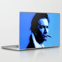 u2 Laptop & iPad Skins featuring Achtung Bono by JR van Kampen