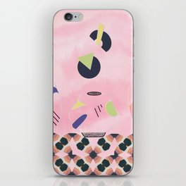 The Wall of Invisible Vessels iPhone Skin
