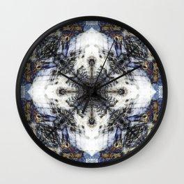 Flow Fractal Wall Clock