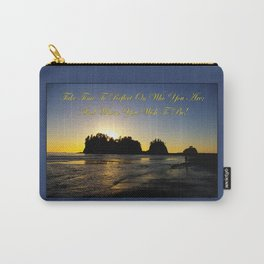 james island, wa & reflection Carry-All Pouch