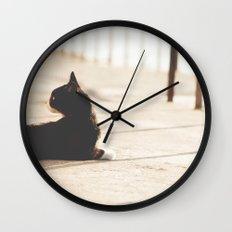 Gatunadas II Wall Clock