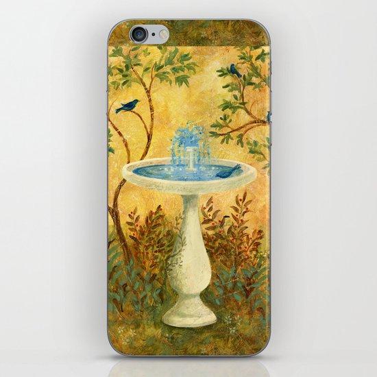 Peace Garden iPhone & iPod Skin