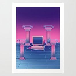 BSoD コンピュータの死 Art Print