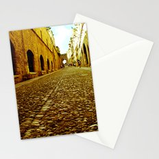 Medieval Streets Stationery Cards