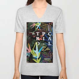 TROPICAL Unisex V-Neck