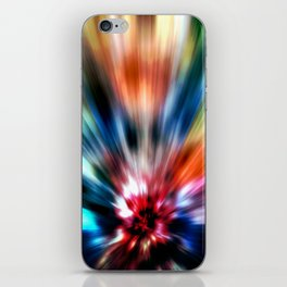 Burst of Colors iPhone Skin