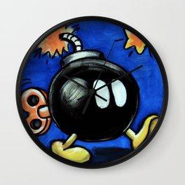 Bob-omb Wall Clock