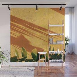 Yellow Crash Wall Mural