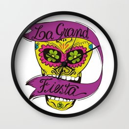La Grand Fiesta Wall Clock