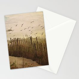 Over the Dunes Painterly Stationery Cards