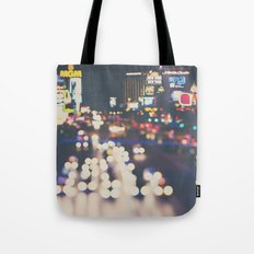 Las Vegas ... the neon town!  Tote Bag