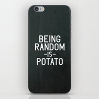 random iPhone & iPod Skins featuring Random by Vectored Life