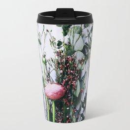 Floral Peeks Travel Mug