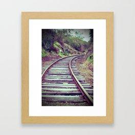 Valley Railway Framed Art Print