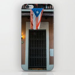 The flag of Puerto Rico iPhone Skin