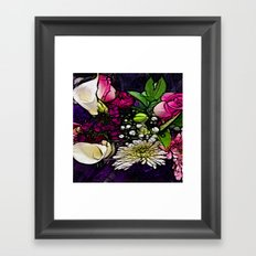 :: Bring Flowers :: Framed Art Print