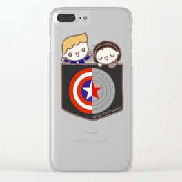 Pocket Stucky Clear iPhone Case
