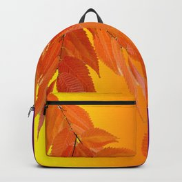 Fall leaves with modern colors Backpack